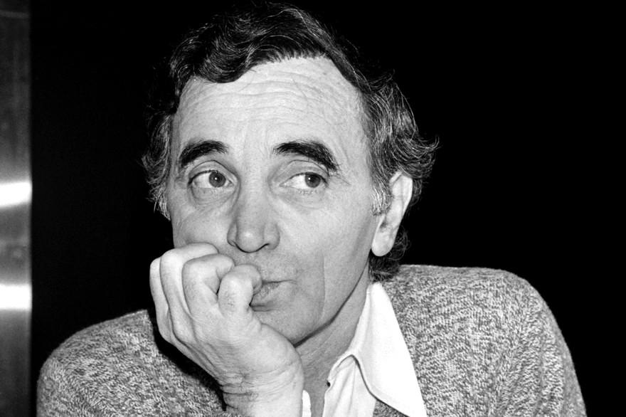 Aznavour plus jeune