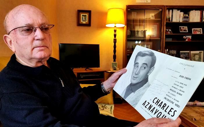 Charles Aznavour affiche