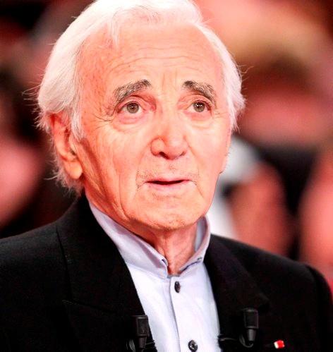 Aznavour portrait