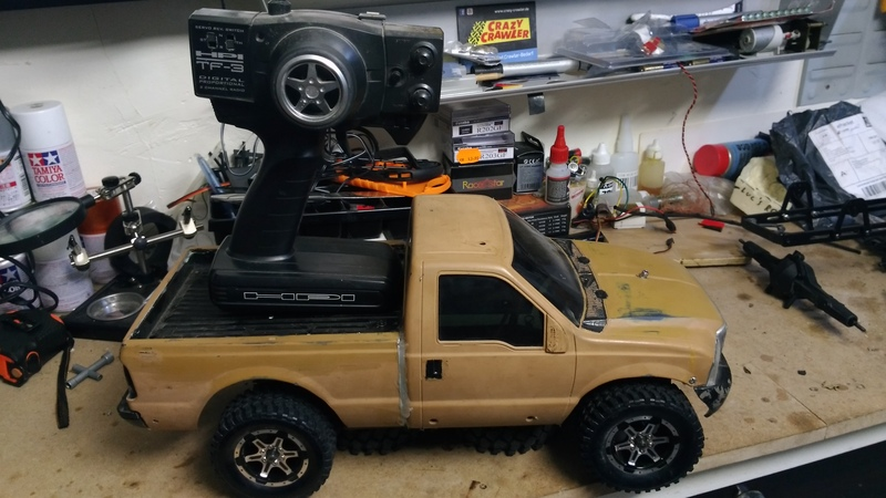 vends Ford F350 sur châssis kyosho alpha pure ten EP 18101107431223559215937799