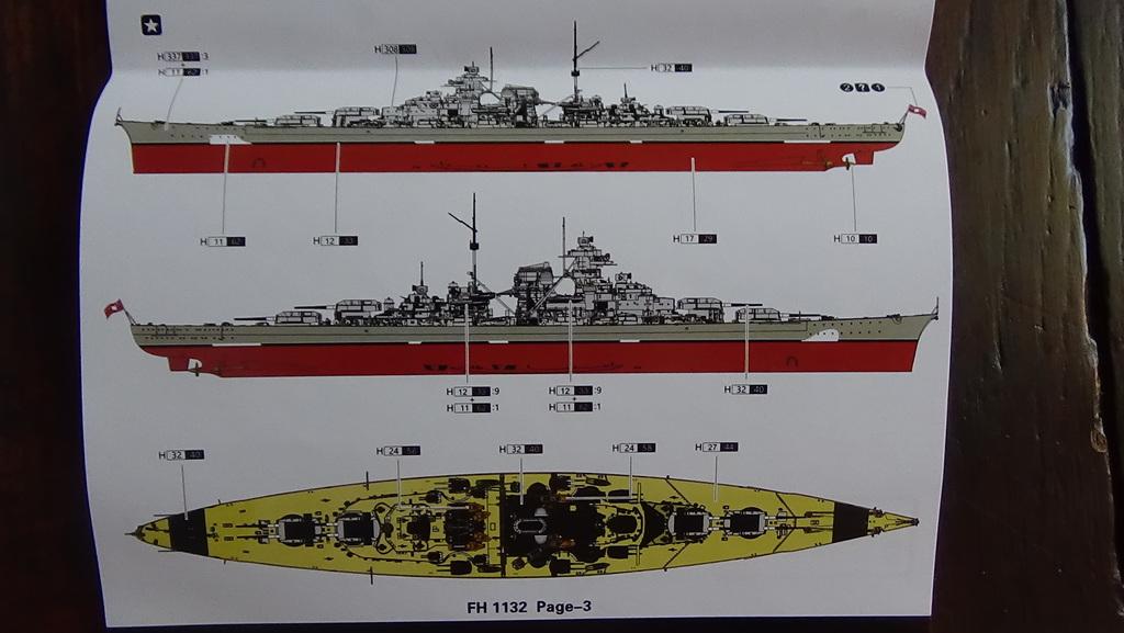 Bismarck 1941 au 700e - Flyhawk edition deluxe 18101206041323134915939392