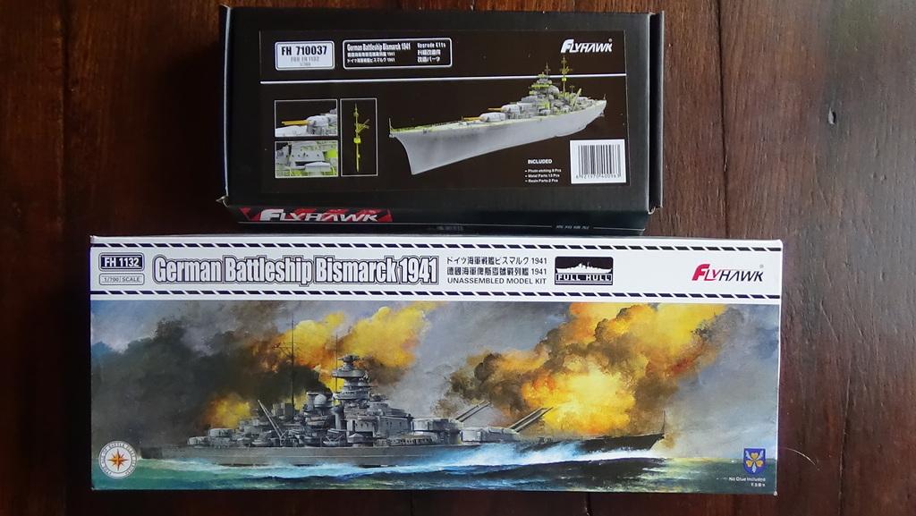 Bismarck 1941 au 700e - Flyhawk edition deluxe 18101206043623134915939393