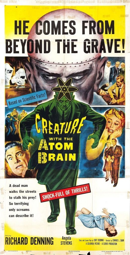 POSTEROÏDE - Creature with the Atom Brain dans Cineteek 18101209491715263615938238