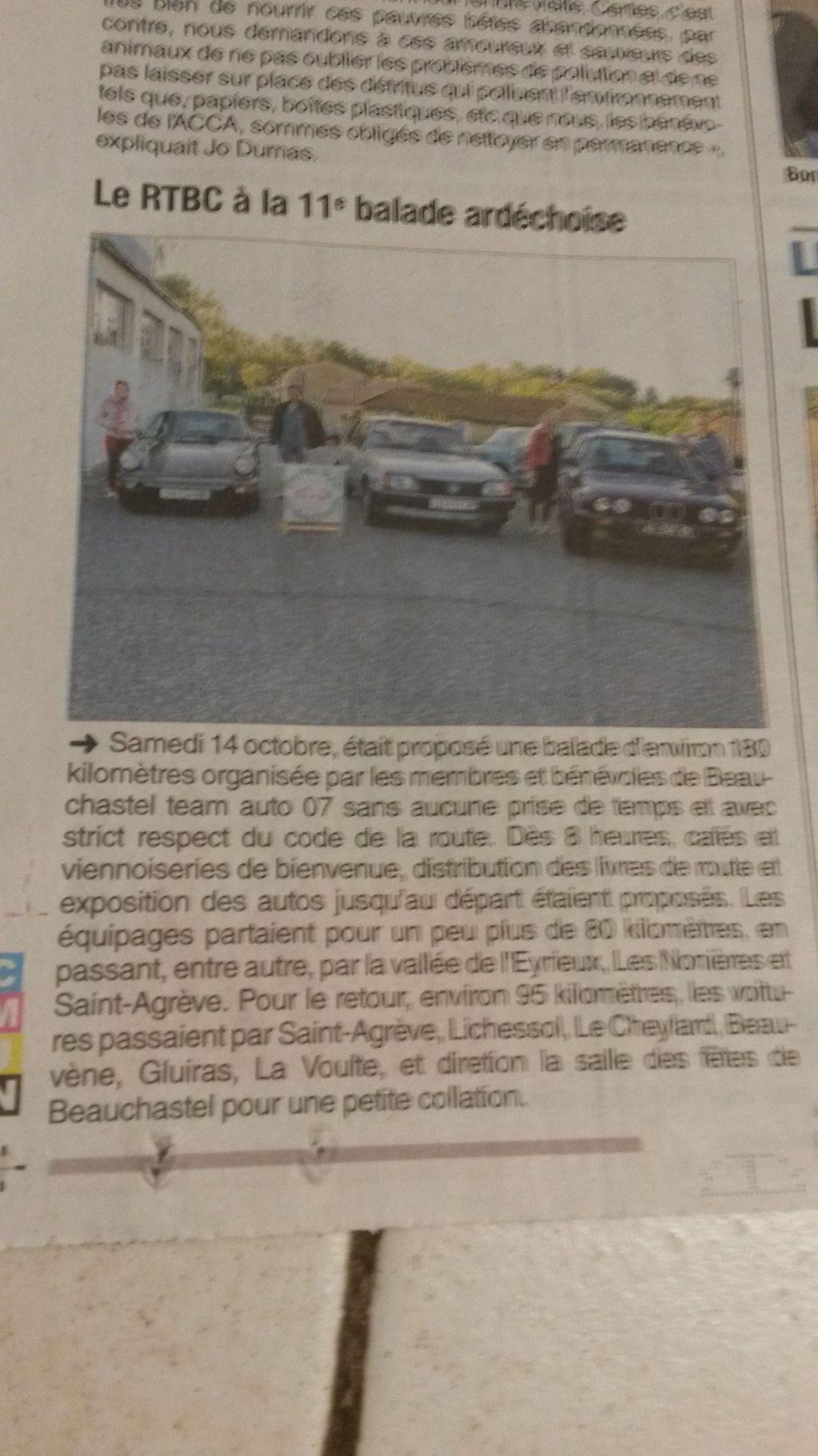 [07] 13/10/2018 - 11ème balade Ardèchoise - Beauchastel - Page 2 18101508372823632315943338
