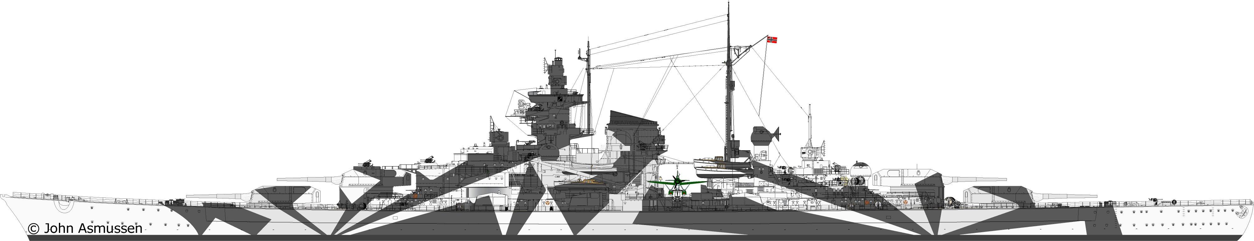 Tirpitz 1:350 Platinum Edition 18101912181323134915950528