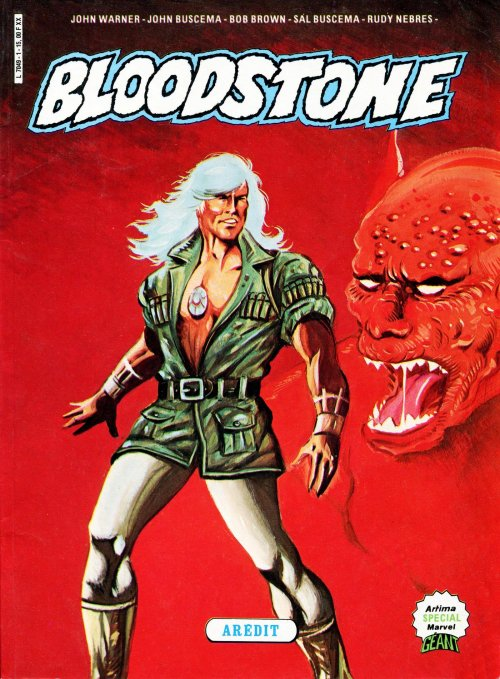 Bloodstone sur Bookys