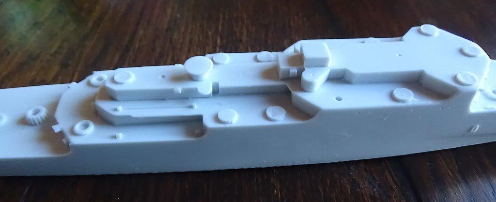 [Croiseur Colbert, 1964] 1/700e Niko Models-Ouverture de boite 18102412330723134915960133