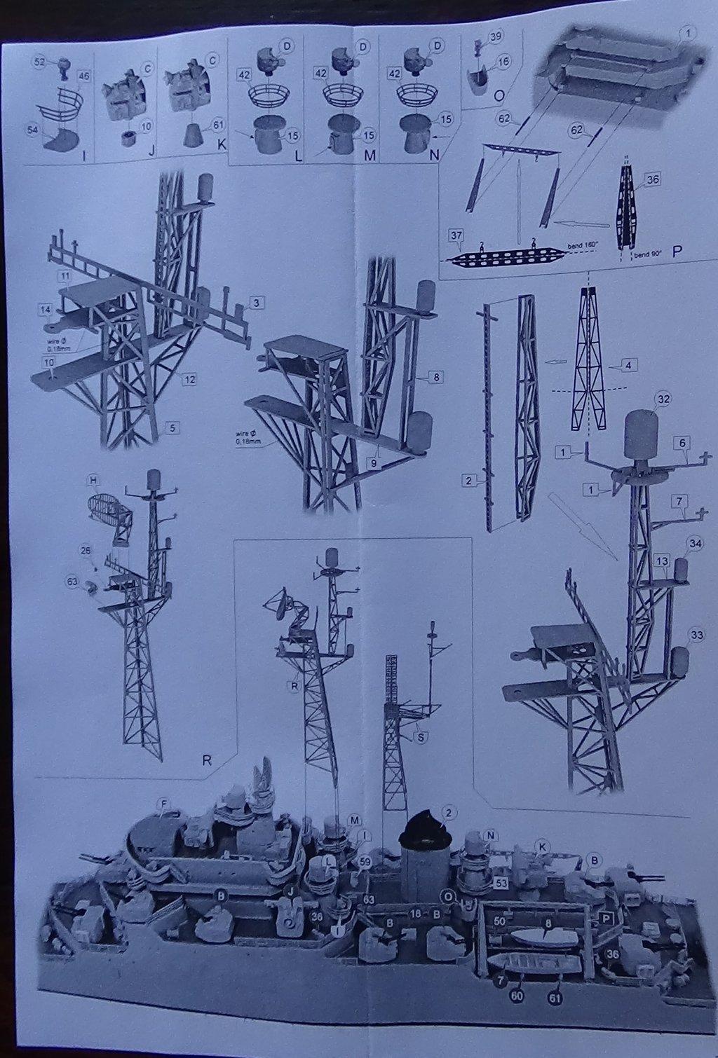 [Croiseur Colbert, 1964] 1/700e Niko Models-Ouverture de boite 18102412332823134915960134
