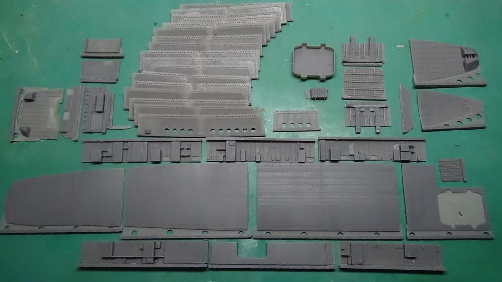 Porte-avions Clemenceau : conception et réalisation d'un kit d'amélioration - Page 2 18102806091523134915967651