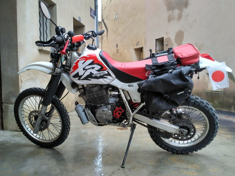 Honda 600 XR 18102912080624333815969293