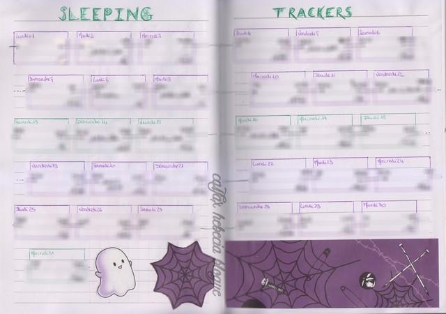 sleeping trakers halloween