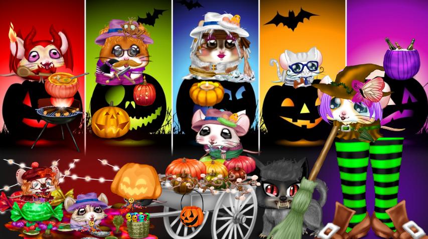 Défilé d'Halloween ... les pieds de sorcière !!!  18110607365720785015984245