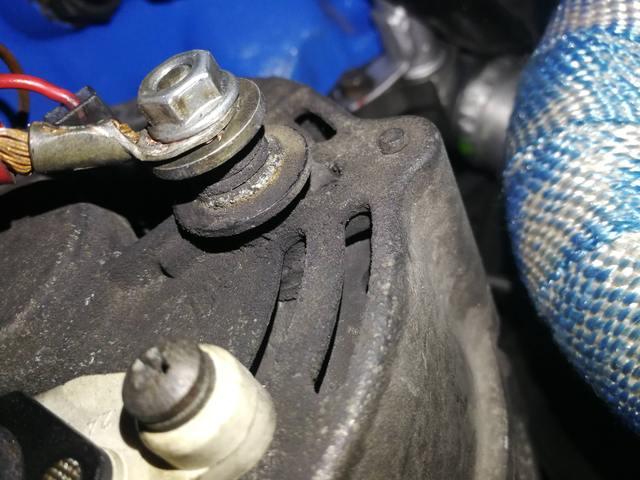 volvo 240 alternator wiring volvo 240 alternator issues page 2 turbobricks forums  volvo 240 alternator issues page 2