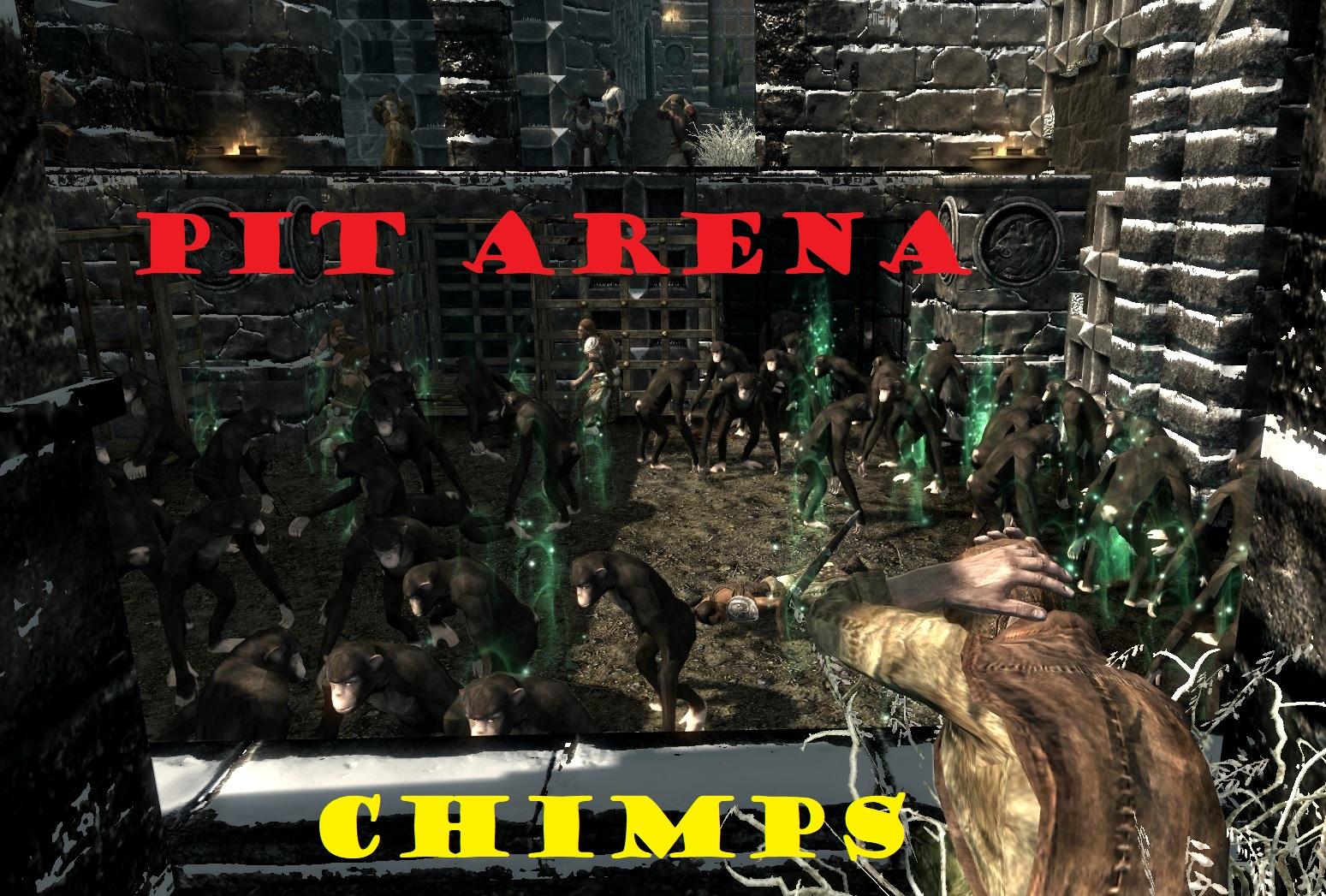 Pit Arena Chimps