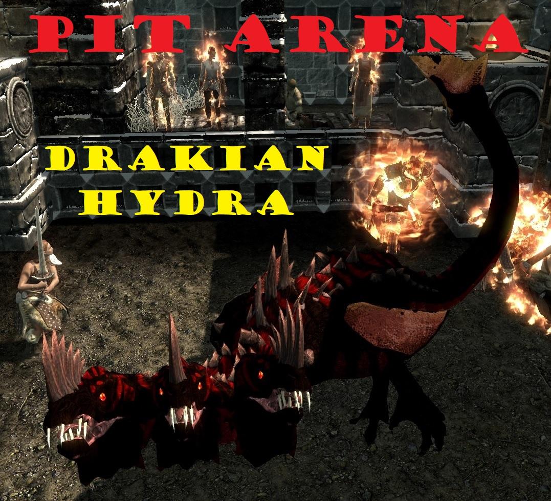 pit arena drakian hydra