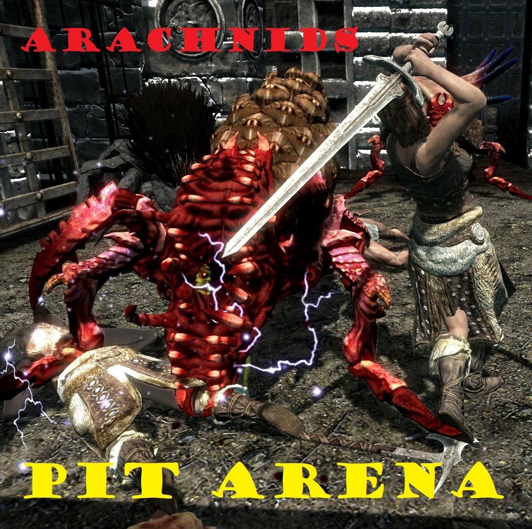 pit arena arachnids