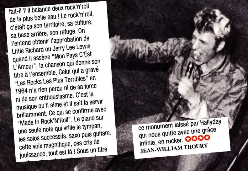 """""""Mon pays c'est l'amour"""" : chronique de JEAN-WILLIAM THOURY dans """"ROCKFOLKsvp"""" 18111904595223491616002594"""