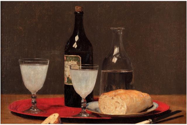 peinture absinthe