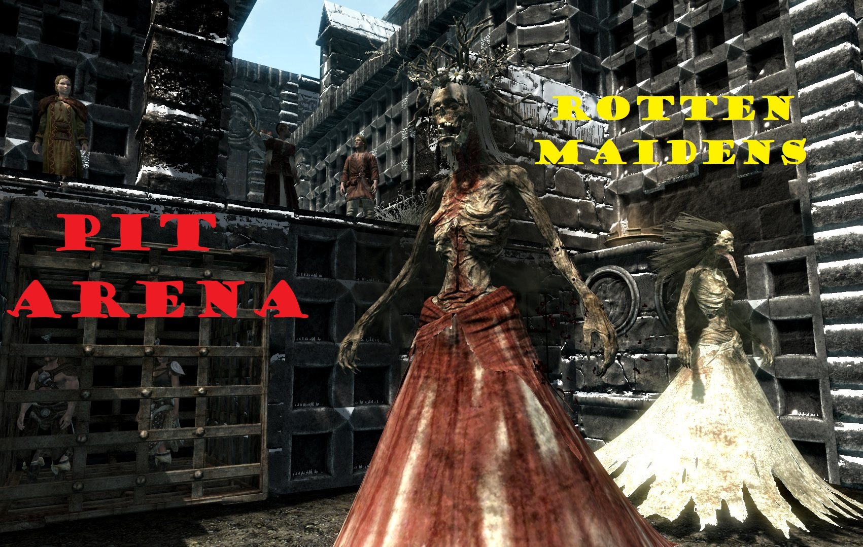 Pit arena Rotten Maidens