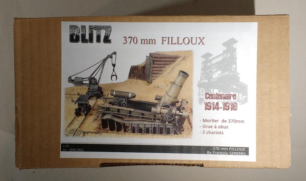 Le mortier de 370 Filloux (Blitz 1/35) 18120201460023099316021009