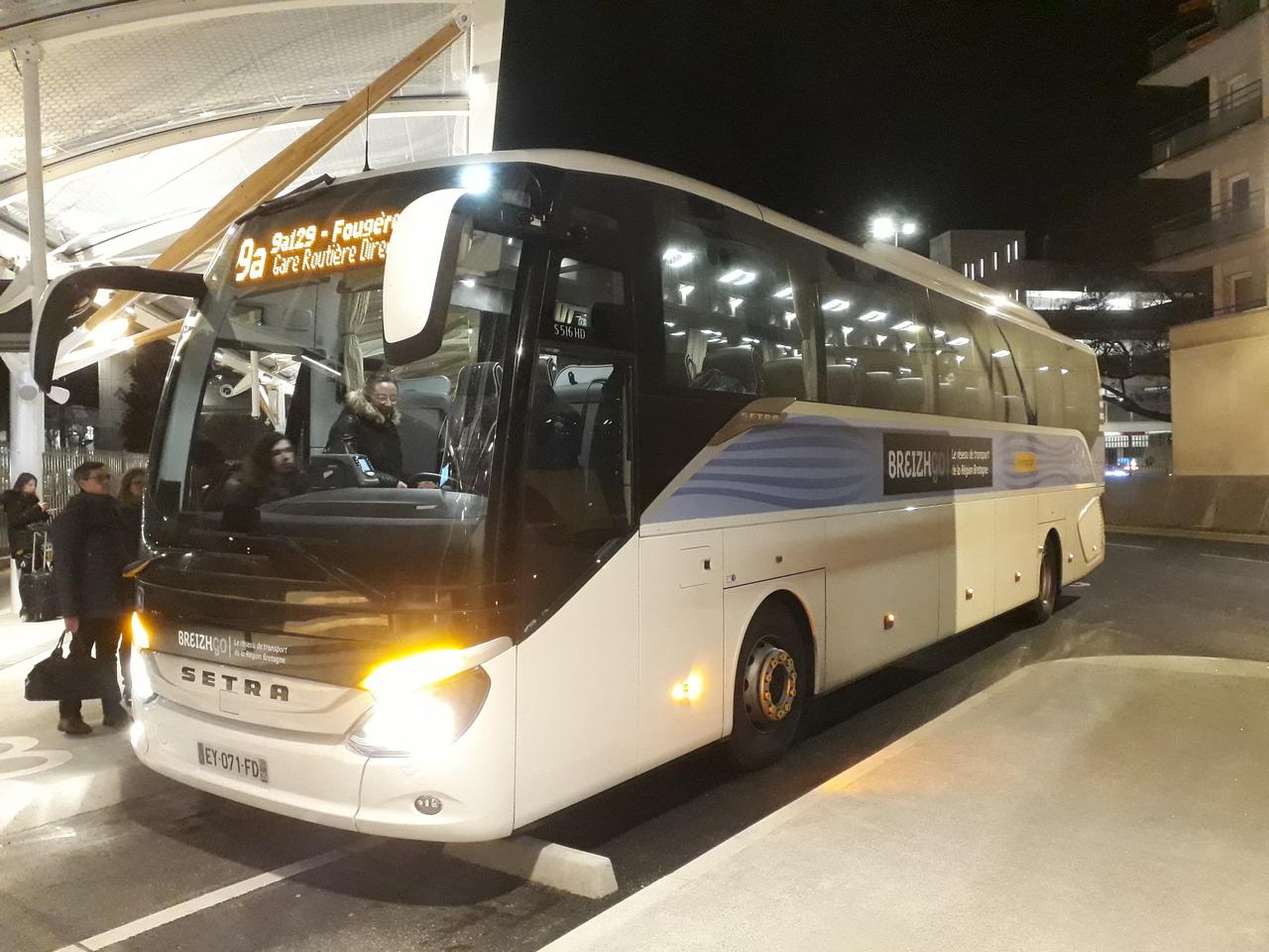 Transports. Entre Rennes et Fougères, une ligne de cars à haut niveau de service 1812020437338967516021530