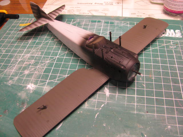 Spad VIIc Aéronautique militaire belge Roden 1/32 18120304583023669016022928