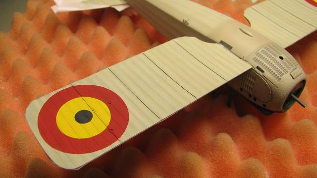 Spad VIIc Aéronautique militaire belge Roden 1/32 18120305365123669016022980
