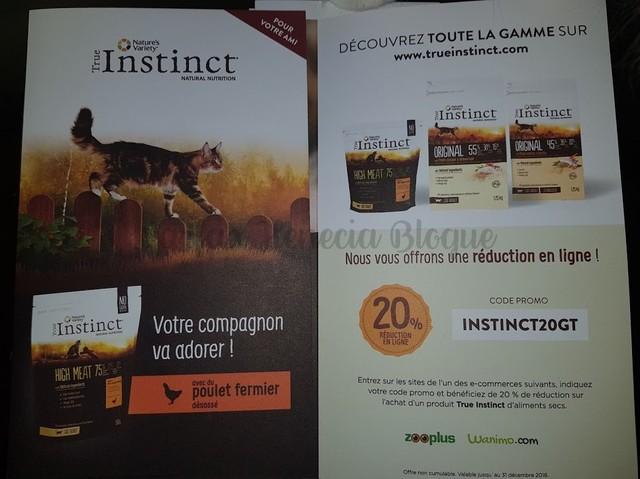 code promo true instinct