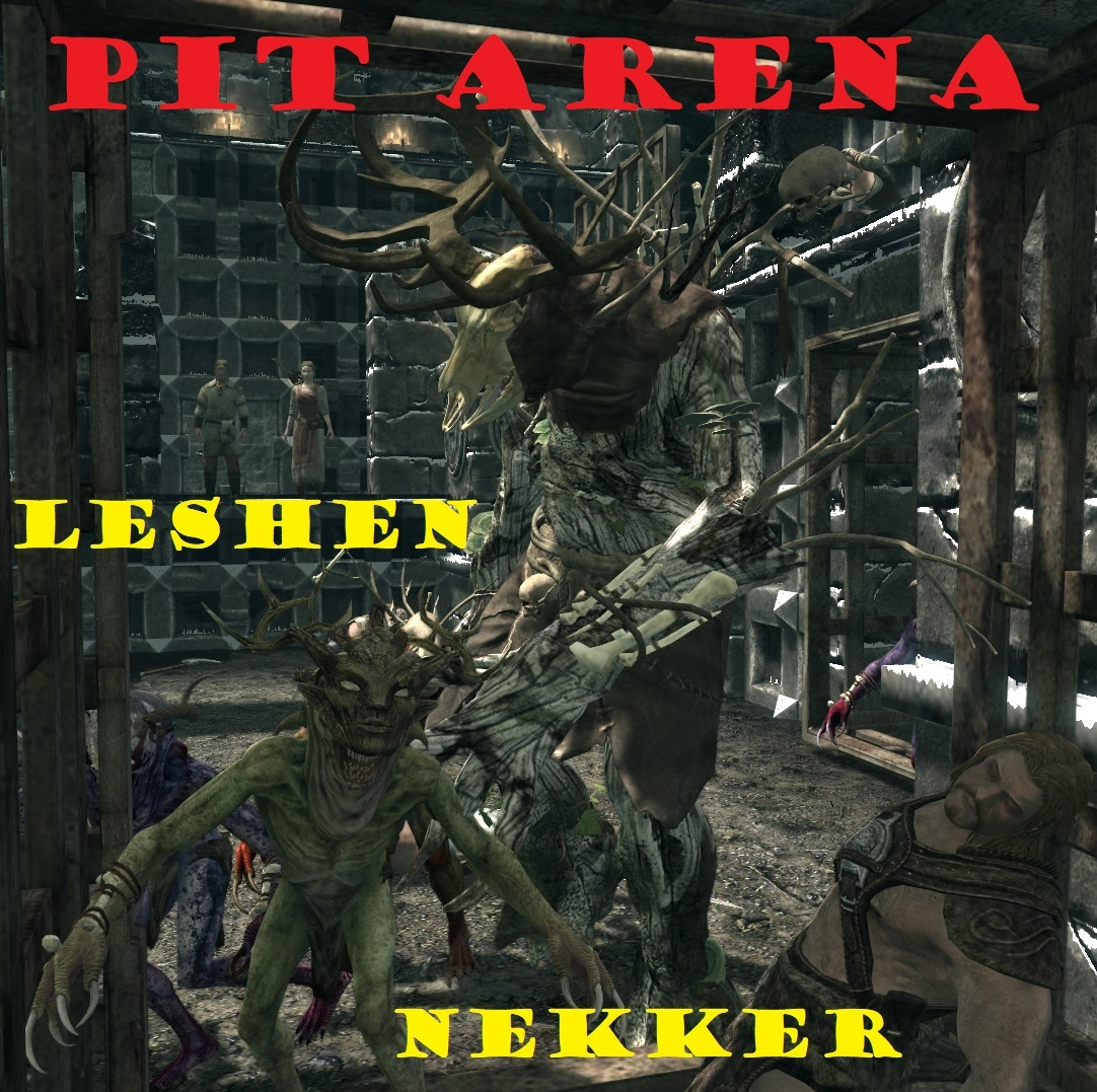 pit arena Leshens and Nekkers