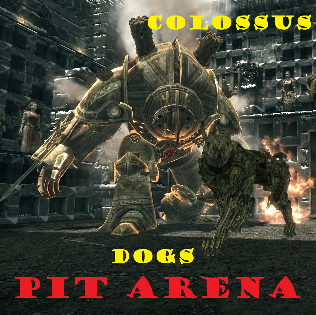 Pit arena colossus