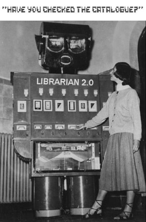 ROBOTIKMACHINE - Le robot bibliothécaire dans Robotikmachine 18121806402015263616040617
