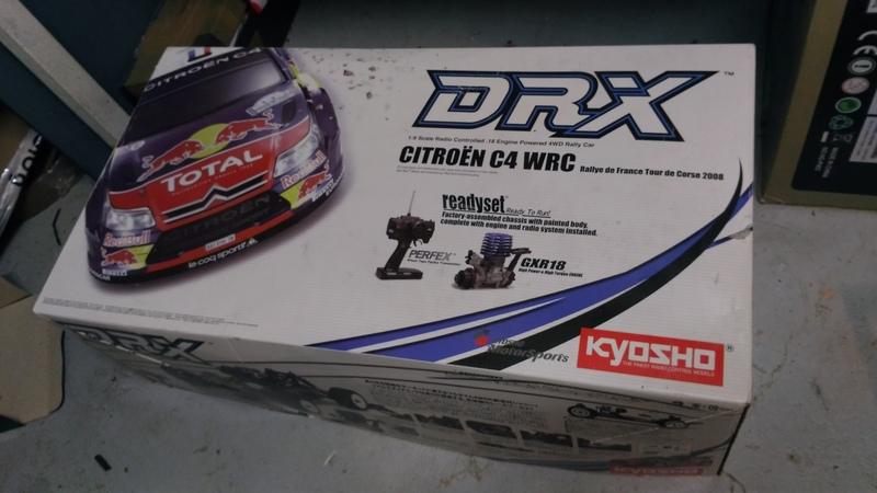 vends Kyosho DRX brushless 19010403370023559216064015