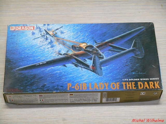 Northrop P-61 Black Widow    kit Dragon 1/72  1901210629265625616085349