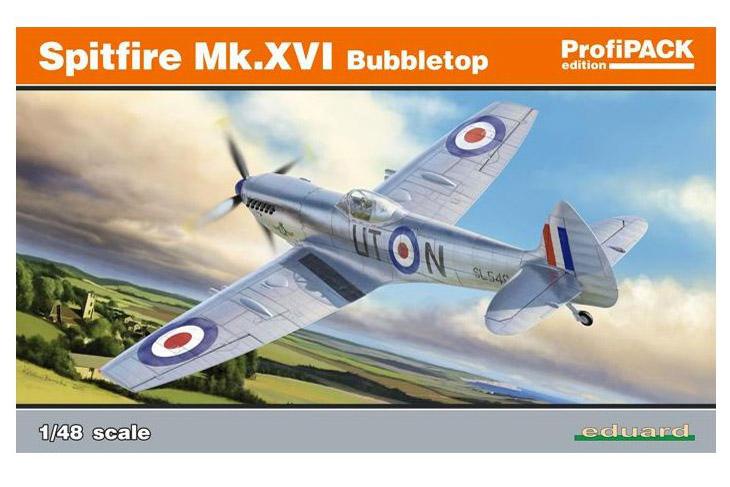 Spitfire Mk. XVI Bubbletop ÷ Eduard 8285 ÷ 1/48 1901230252255585016088445