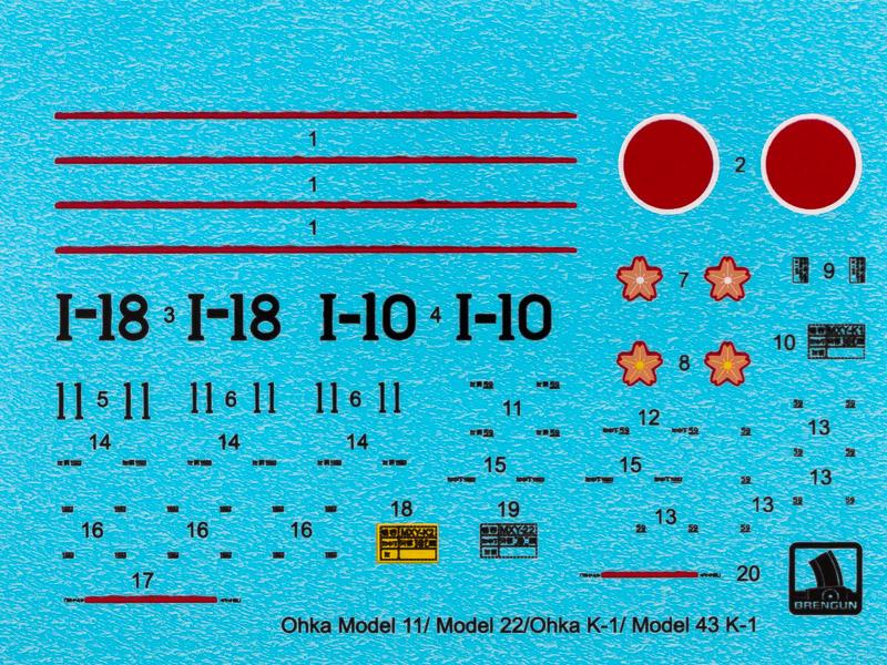 MXY-7 OHKA Model 11 [Brengun, 1/72] 19012303215924220516088492