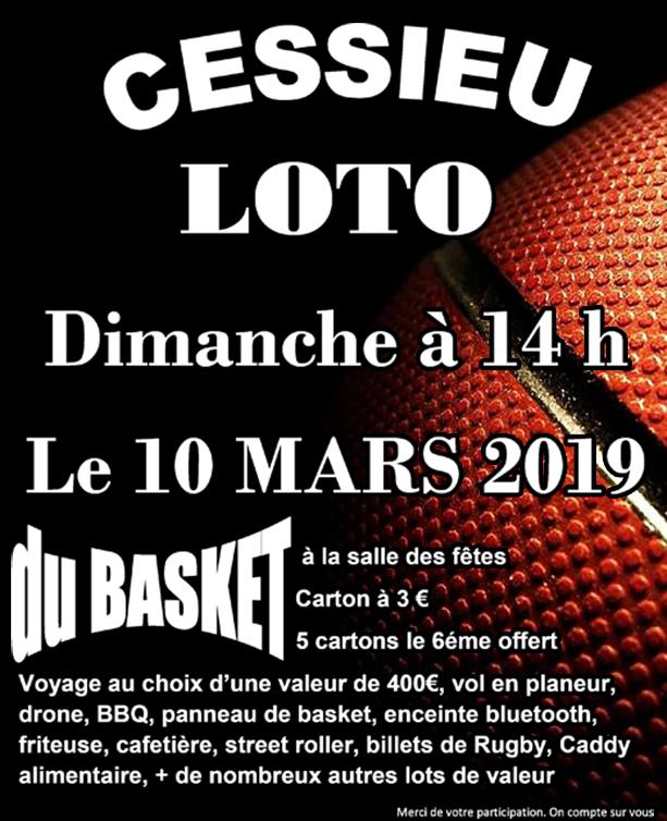 loto basket 10mars2019