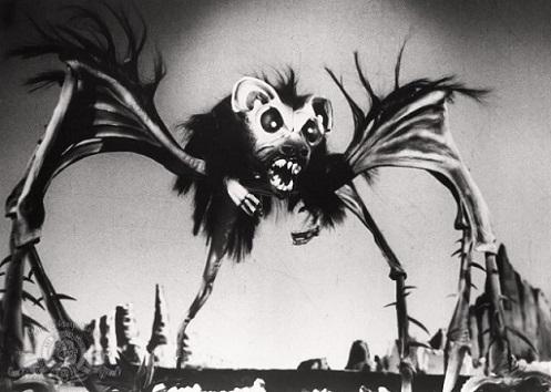 DATAPROFILE - Créature araignée-rat-chauve-souris martienne dans Cineteek 19012701410715263616093957