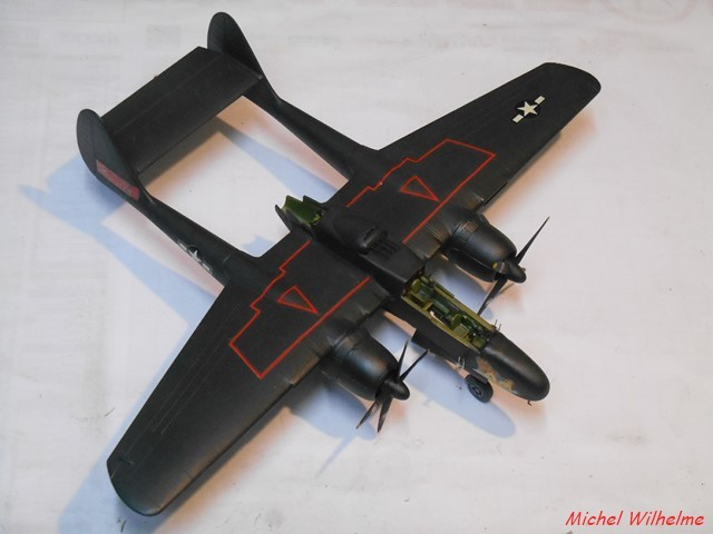 Northrop P-61 Black Widow    kit Dragon 1/72  1901280936115625616095816