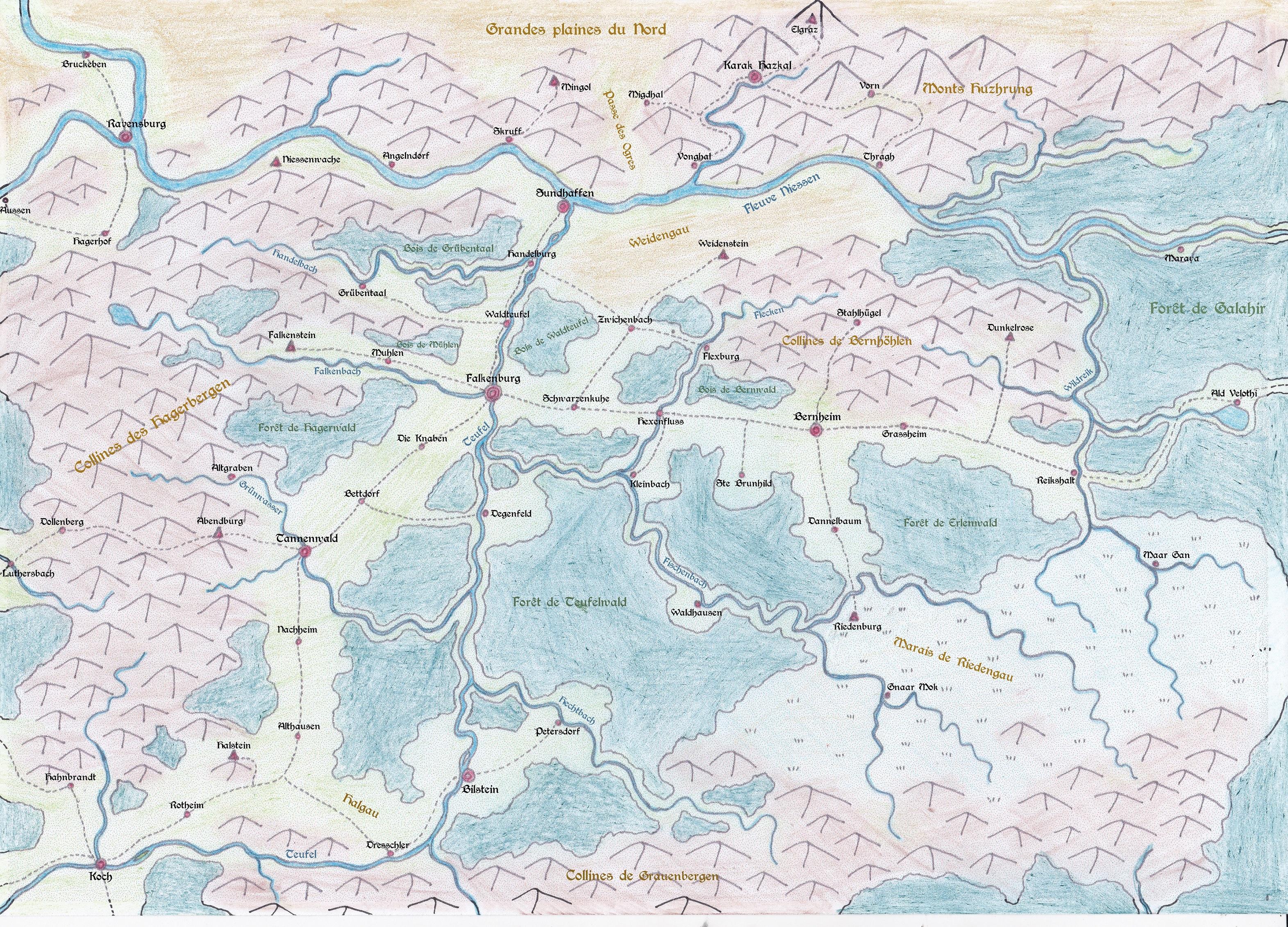 Carte de Galahir et alentours 19020109051024633916102913