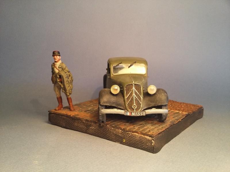 """""""Où est mon chauffeur?""""  Citroen Traction Avant, 1940, 1/35 19020507011415435716108728"""