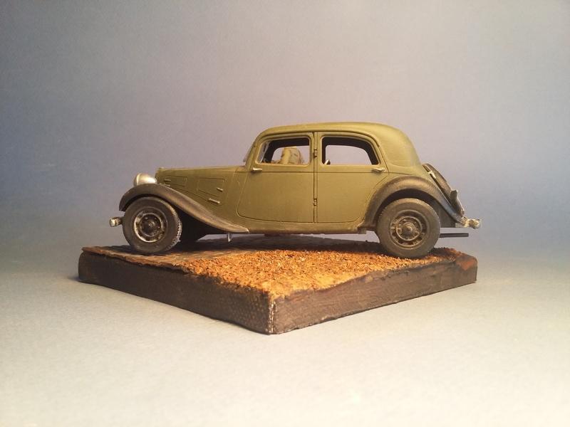"""""""Où est mon chauffeur?""""  Citroen Traction Avant, 1940, 1/35 19020507013215435716108732"""