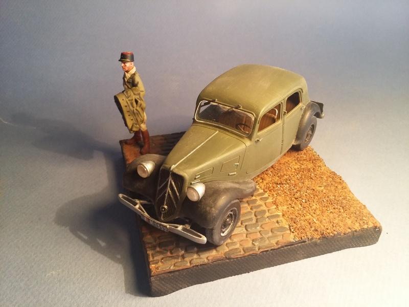 """""""Où est mon chauffeur?""""  Citroen Traction Avant, 1940, 1/35 19020507015215435716108736"""