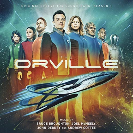 SÉQUENCE B.O. : THE ORVILLE, LE CD dans B.O. 19020709014915263616111173