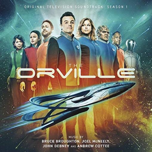 SÉQUENCE B.O. : THE ORVILLE, LE CD dans B.O. 19020709014915263616111173