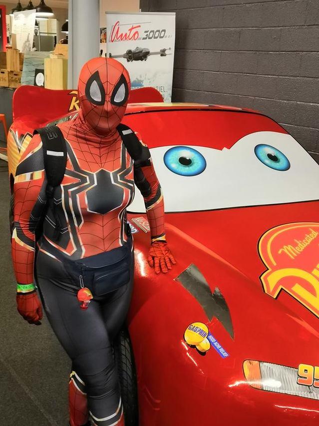 flash mc queen et spiderman