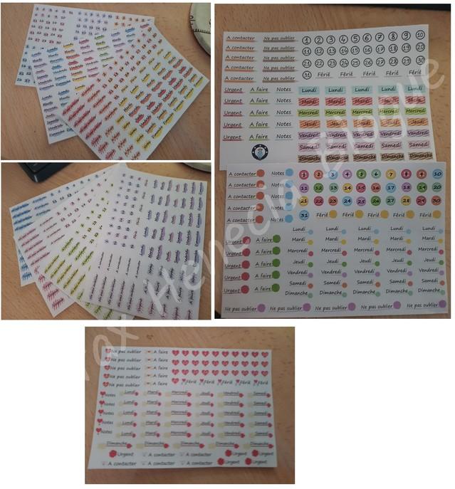 stickers bullet journal