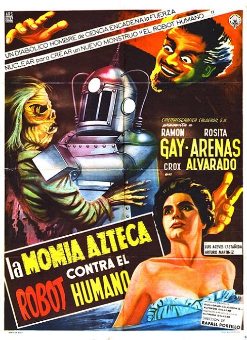 POSTEROÏDE - La Momia Azteca contra el Robot Humano dans Cineteek 19021811473215263616124308