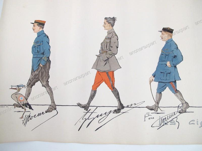 Au sujet du pantalon de l'uniforme du capitaine Brocard, de la N3 . 19021903503323469216125964