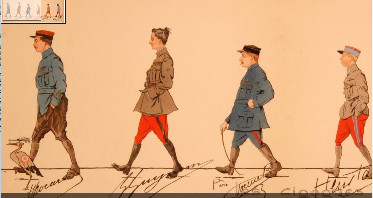 Au sujet du pantalon de l'uniforme du capitaine Brocard, de la N3 . 19021903503423469216125966
