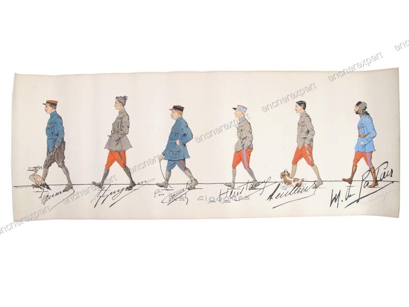Au sujet du pantalon de l'uniforme du capitaine Brocard, de la N3 . 19021903530923469216125972